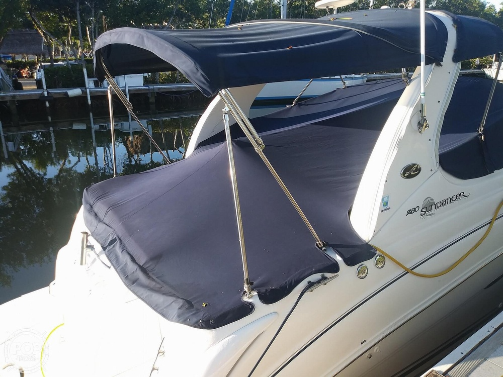 2004 Sea Ray boat for sale, model of the boat is 280 Sundancer & Image # 39 of 40