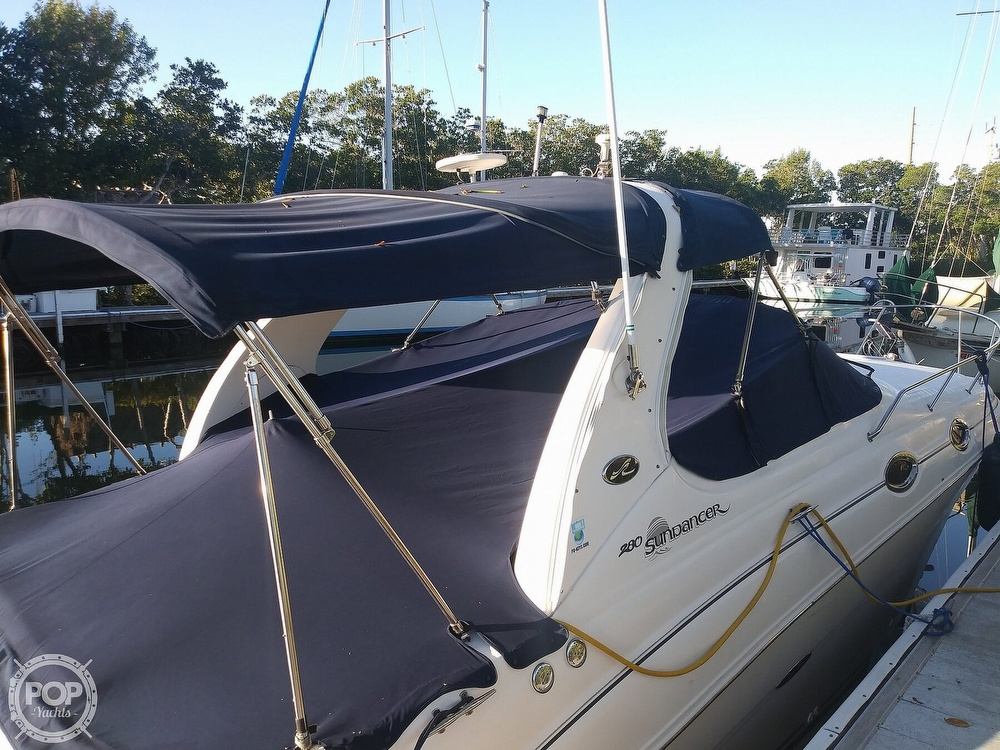 2004 Sea Ray boat for sale, model of the boat is 280 Sundancer & Image # 40 of 40