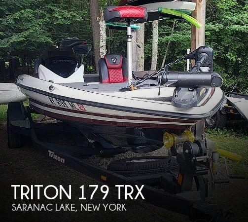 Used Boats For Sale in Burlington, Vermont by owner | 2017 Triton 18