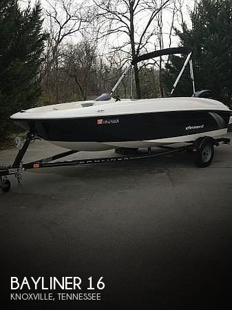 Used Boats For Sale by owner | 2015 Bayliner 16