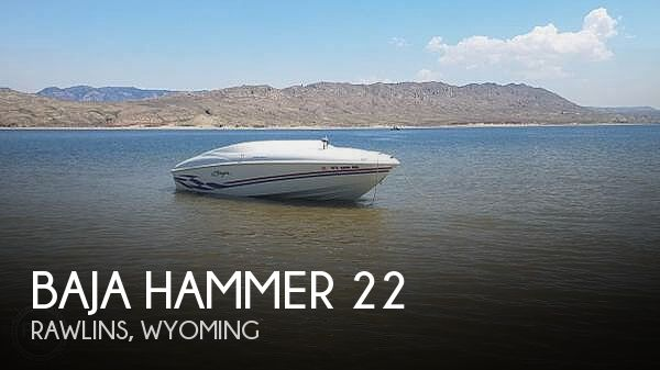Used Boats For Sale in Wyoming by owner | 1998 Baja Hammer 22