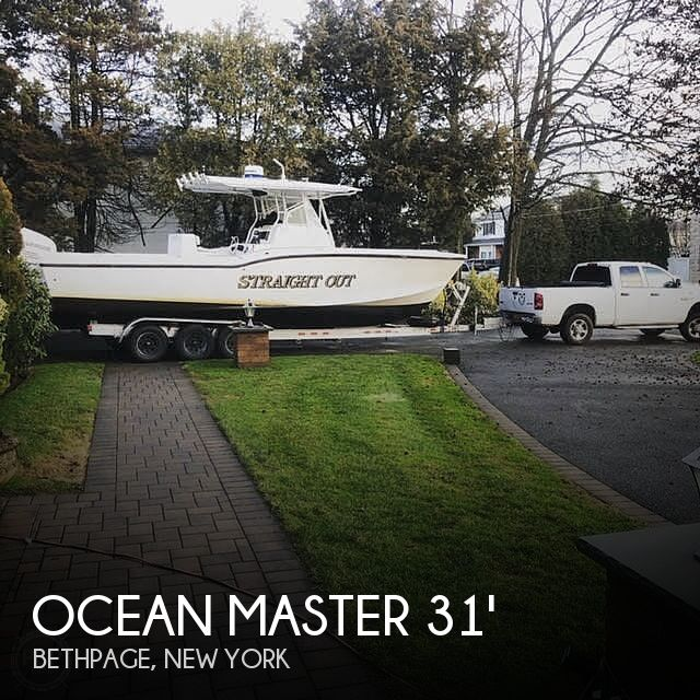 Used Ocean Master Boats For Sale by owner | 2002 Ocean Master 31 Super Console