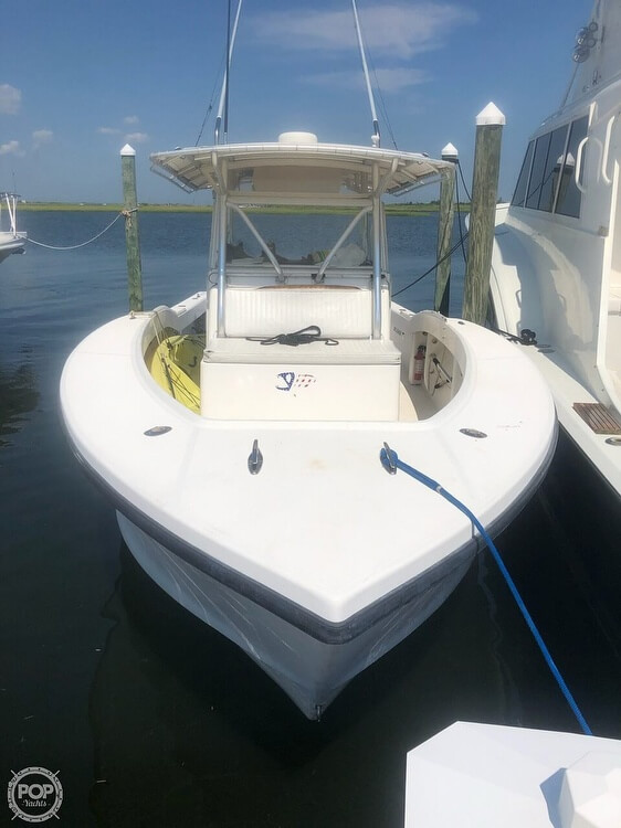 2002 Ocean Master boat for sale, model of the boat is 31 Super Center Console & Image # 4 of 33