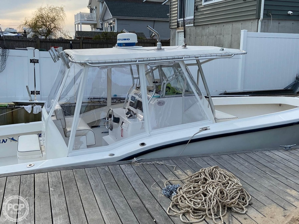 2002 Ocean Master boat for sale, model of the boat is 31 Super Center Console & Image # 32 of 33