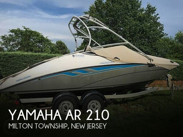 2015 Yamaha boat for sale, model of the boat is AR 210 & Image # 1 of 40