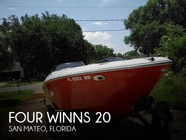 Used Four Winns Boats For Sale in Florida by owner | 2007 Four Winns 20