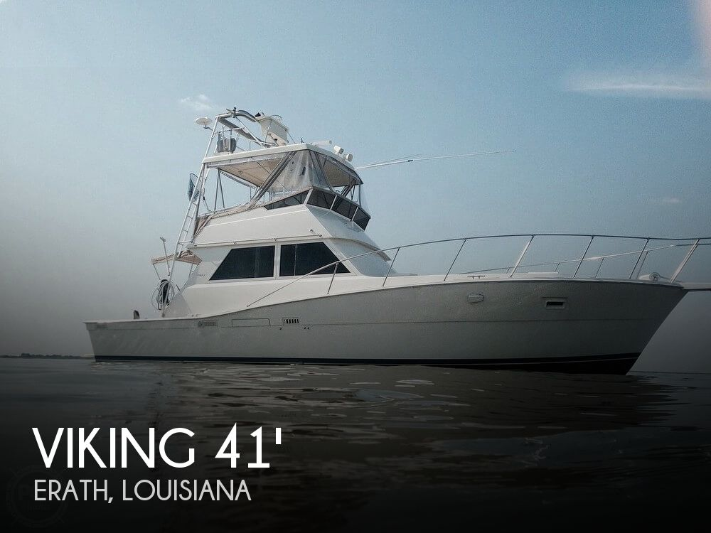 Used Fishing boats For Sale in Louisiana by owner | 1983 Viking 41