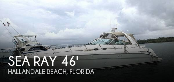 Used Sea Ray Boats For Sale in Florida by owner | 2000 Sea Ray 45
