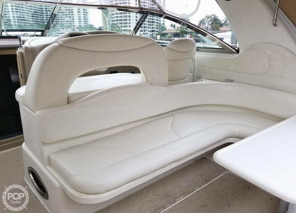 2000 Sea Ray boat for sale, model of the boat is 410 Sundancer & Image # 34 of 40