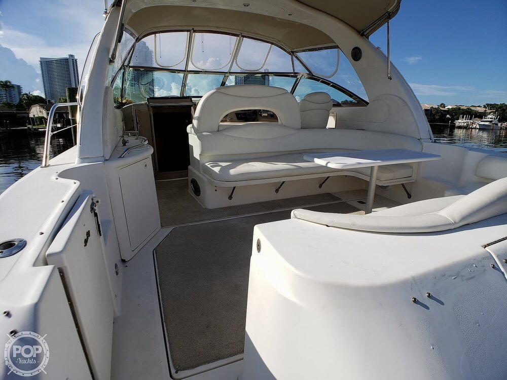 2000 Sea Ray boat for sale, model of the boat is 410 Sundancer & Image # 5 of 40
