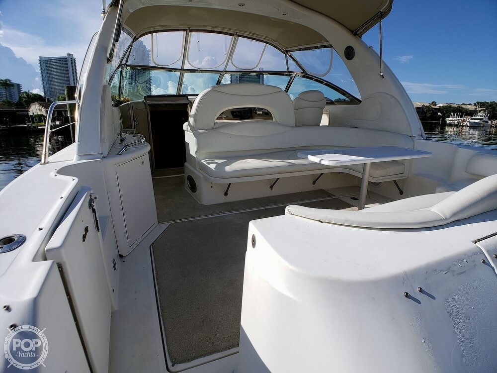 2000 Sea Ray boat for sale, model of the boat is 410 Sundancer & Image # 14 of 40