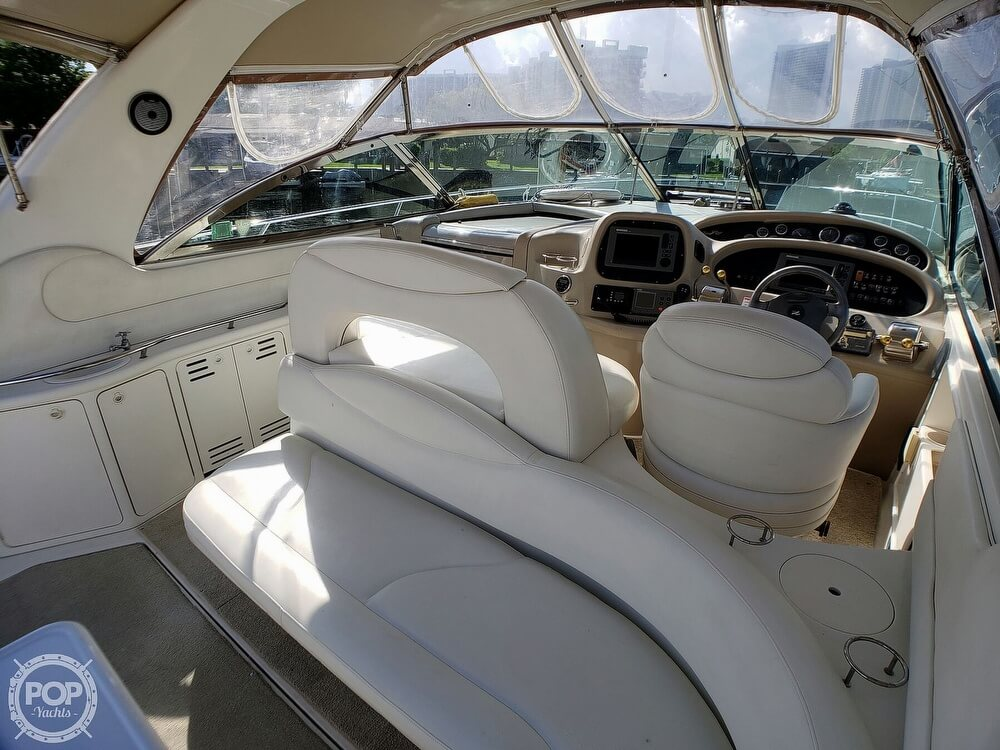 2000 Sea Ray boat for sale, model of the boat is 410 Sundancer & Image # 21 of 40