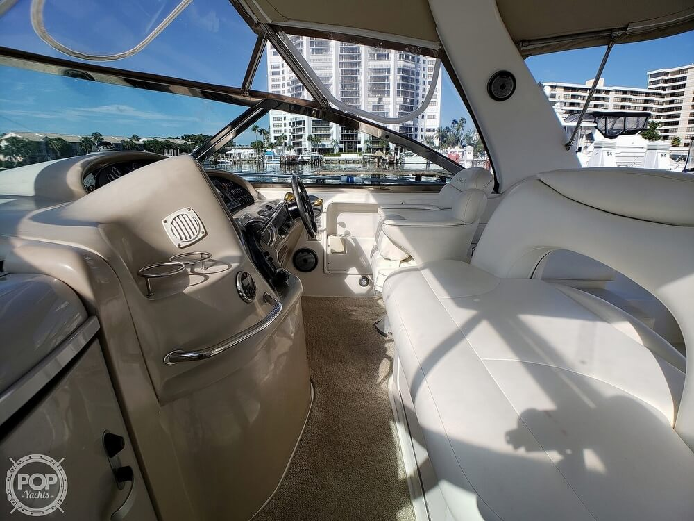 2000 Sea Ray boat for sale, model of the boat is 410 Sundancer & Image # 20 of 40