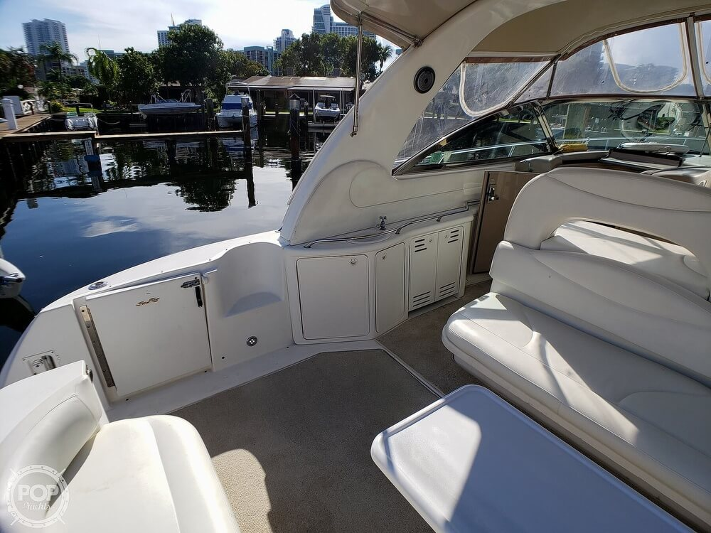 2000 Sea Ray boat for sale, model of the boat is 410 Sundancer & Image # 23 of 40