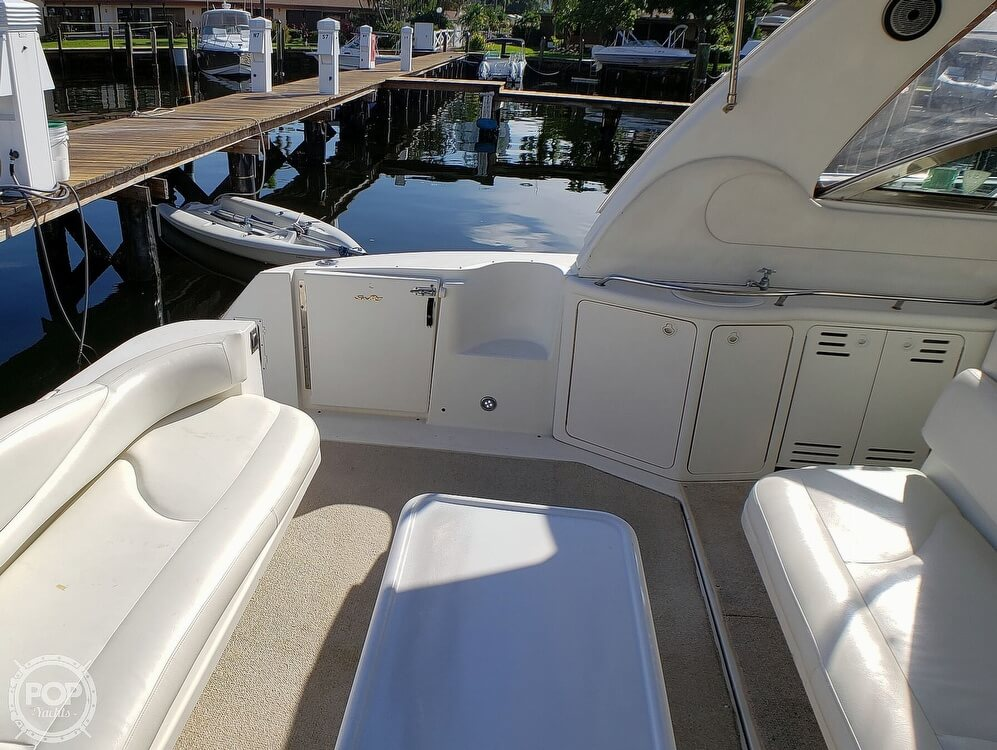 2000 Sea Ray boat for sale, model of the boat is 410 Sundancer & Image # 24 of 40