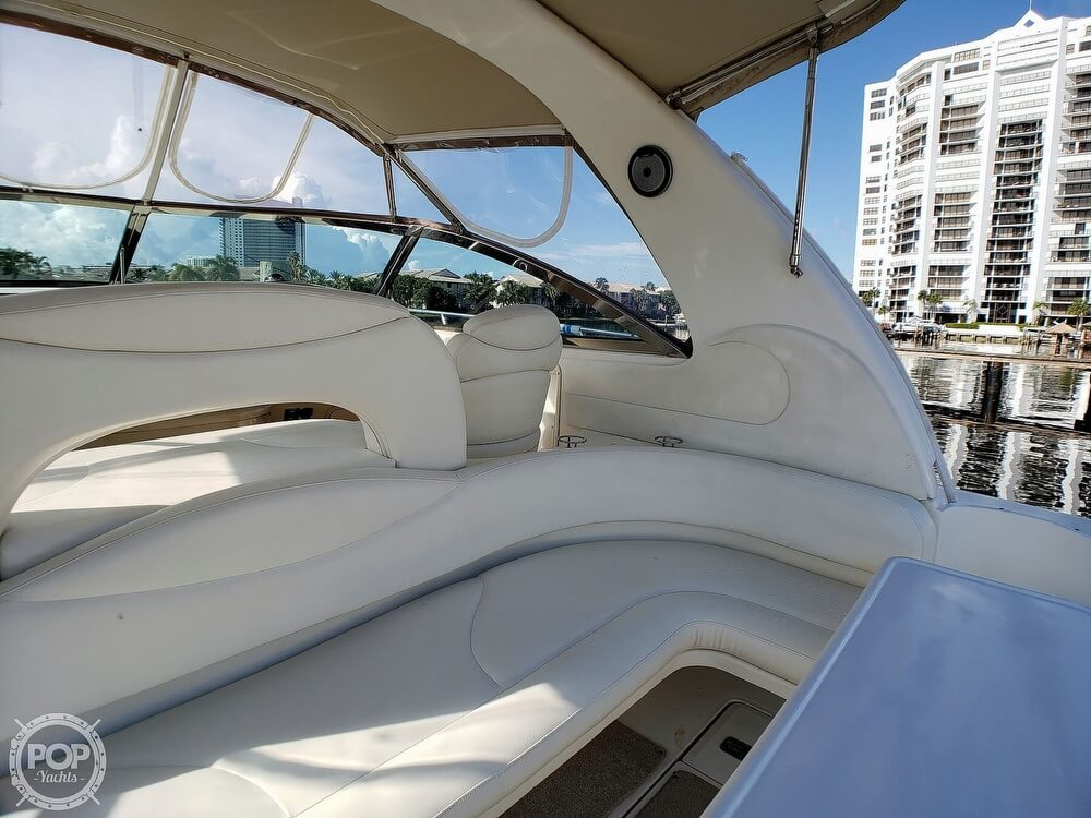2000 Sea Ray boat for sale, model of the boat is 410 Sundancer & Image # 35 of 40