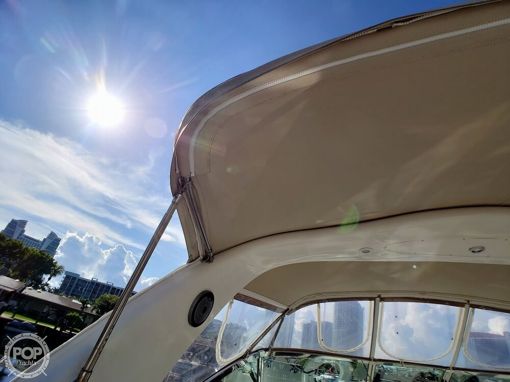 2000 Sea Ray boat for sale, model of the boat is 410 Sundancer & Image # 39 of 40