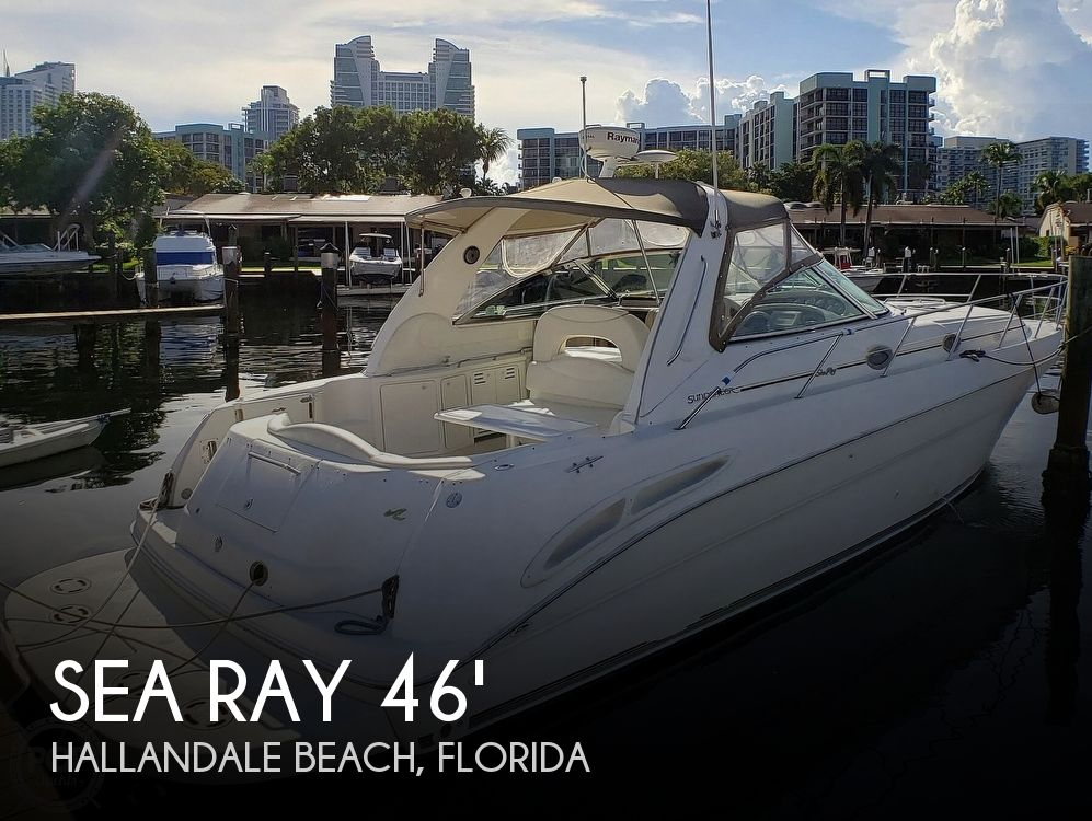 2000 Sea Ray boat for sale, model of the boat is 410 Sundancer & Image # 1 of 40