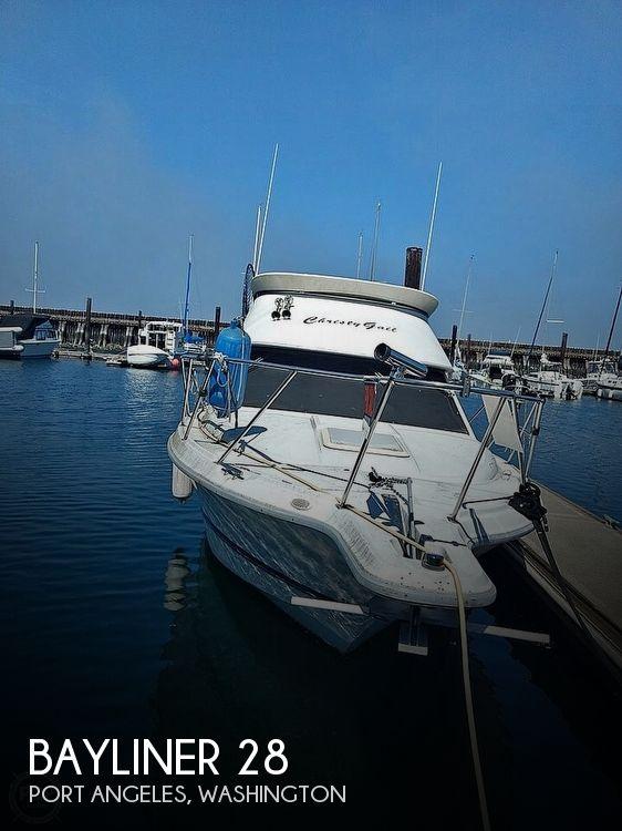 Used Bayliner Boats For Sale in Washington by owner | 1996 Bayliner 28