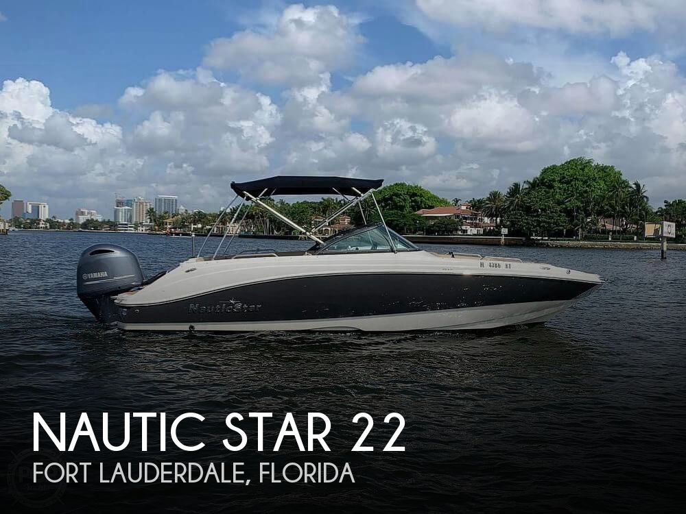 Used Deck Boats For Sale by owner | 2019 Nautic Star 22