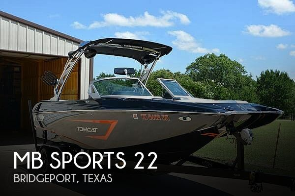 Used Boats For Sale in Dallas, Texas by owner | 2015 MB Sports 22