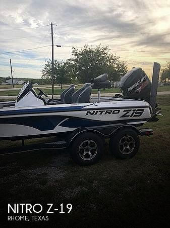 Used NITRO Boats For Sale in Texas by owner | 2018 Nitro 19