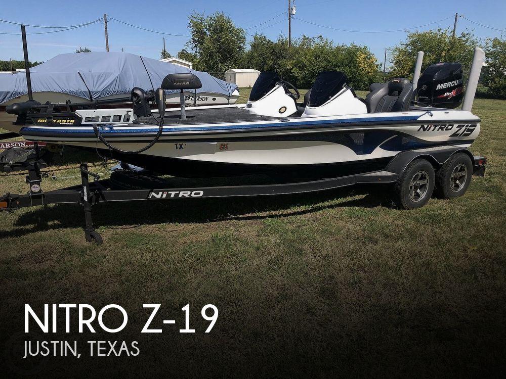 2018 Nitro boat for sale, model of the boat is Z-19 & Image # 1 of 40
