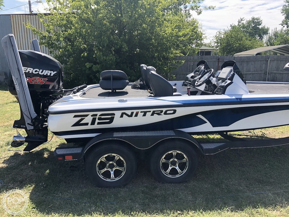 2018 Nitro boat for sale, model of the boat is Z-19 & Image # 34 of 40