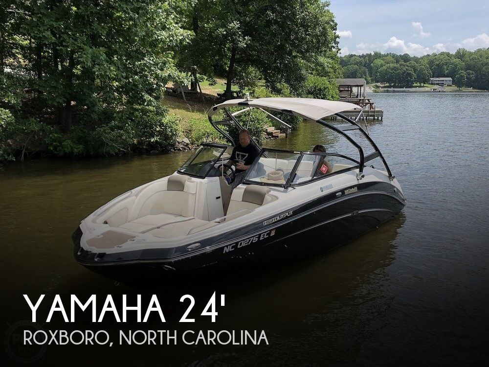 Used Boats For Sale in Durham, North Carolina by owner | 2014 Yamaha 24