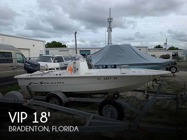 Used VIP Boats For Sale by owner | 2003 VIP 18 Bay Stealth