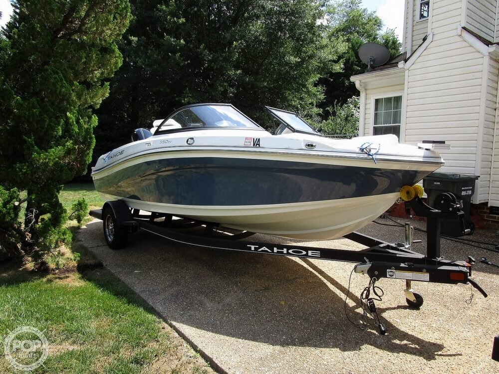 2018 Tahoe boat for sale, model of the boat is 550 TF ski & fish & Image # 2 of 41