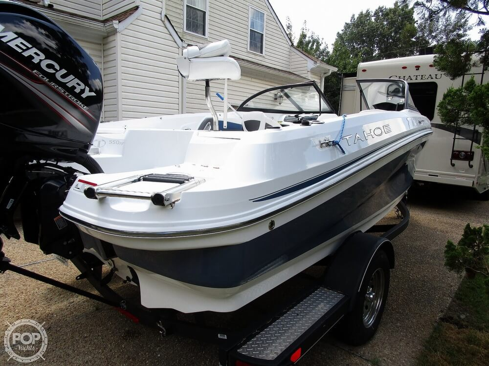 2018 Tahoe boat for sale, model of the boat is 550 TF ski & fish & Image # 6 of 41