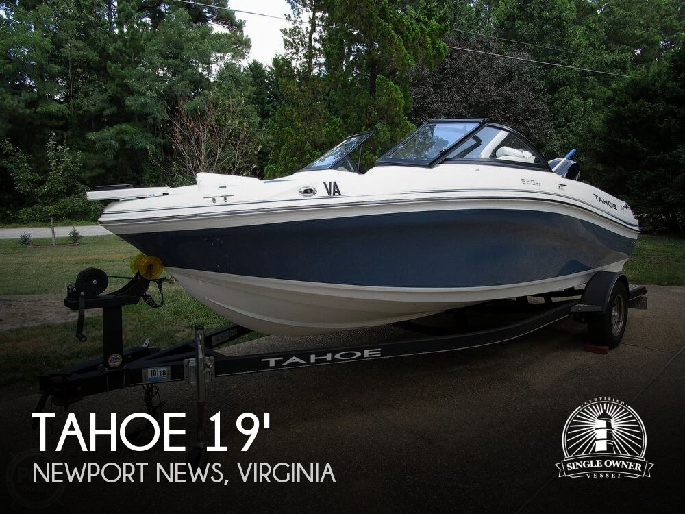 2018 Tahoe boat for sale, model of the boat is 550 TF ski & fish & Image # 1 of 41