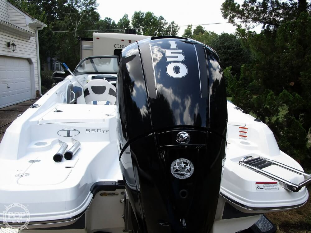 2018 Tahoe boat for sale, model of the boat is 550 TF ski & fish & Image # 10 of 41