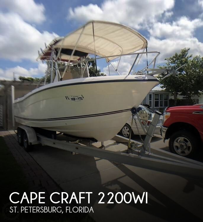 2005 CAPE CRAFT 2200WI for sale