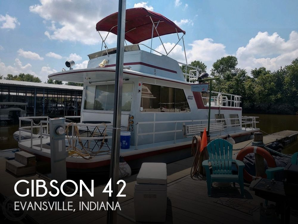 Used Houseboats For Sale in Indiana by owner | 1986 Gibson 42