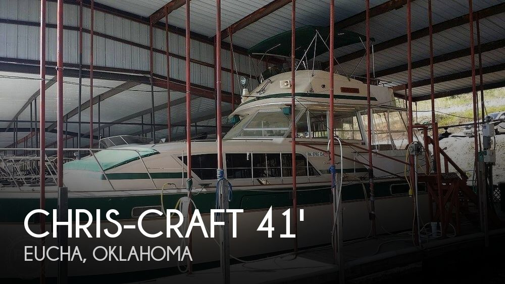 Used Boats For Sale in Fayetteville, Arkansas by owner | 1983 Chris-Craft 41