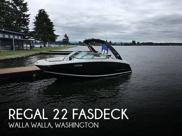 Used Ski Boats For Sale in Washington by owner | 2017 Regal 22
