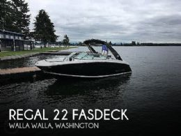 2017 Regal 22 FasDeck