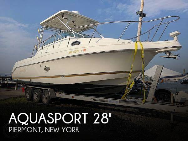 Used Aquasport Boats For Sale by owner | 2002 Aquasport 275 Explorer