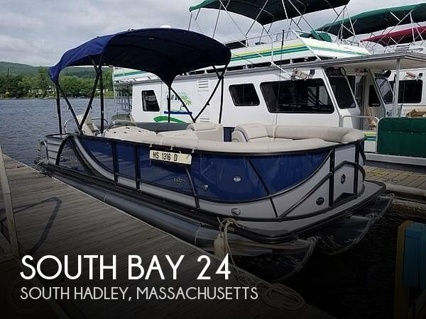 Used Pontoon Boats For Sale by owner | 2017 South Bay 24