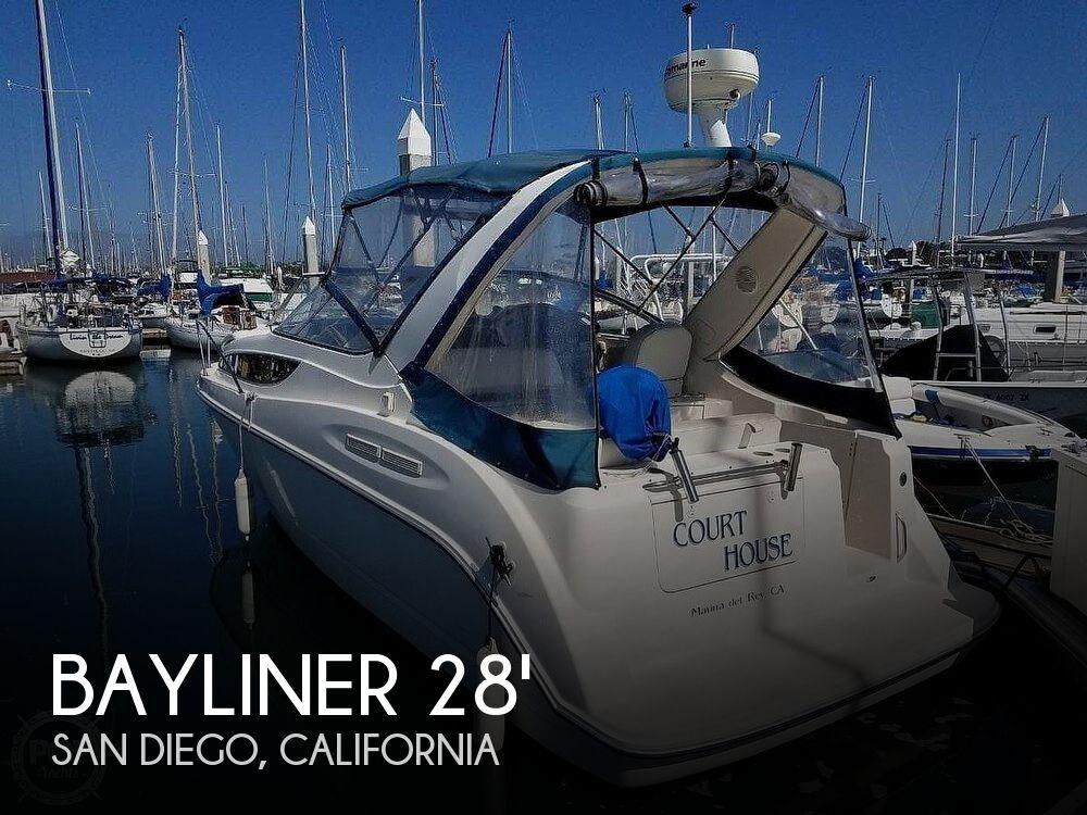 2003 Bayliner boat for sale, model of the boat is Cierra 2855 & Image # 1 of 40