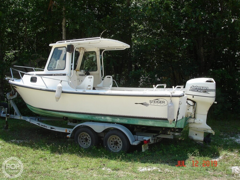 2001 Steiger Craft boat for sale, model of the boat is 21 Chesapeake & Image # 2 of 40