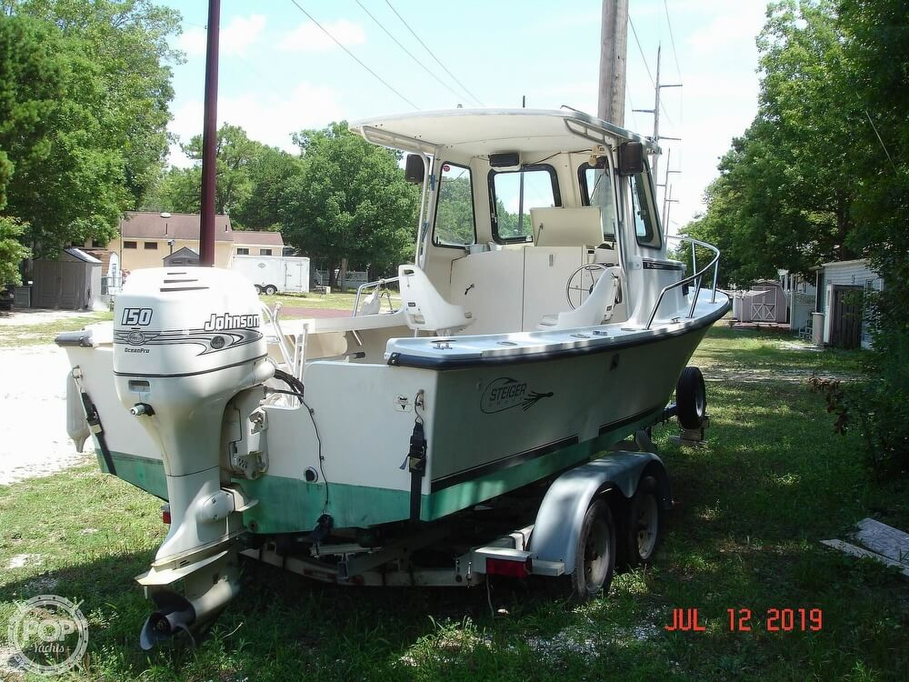 2001 Steiger Craft boat for sale, model of the boat is 21 Chesapeake & Image # 10 of 40