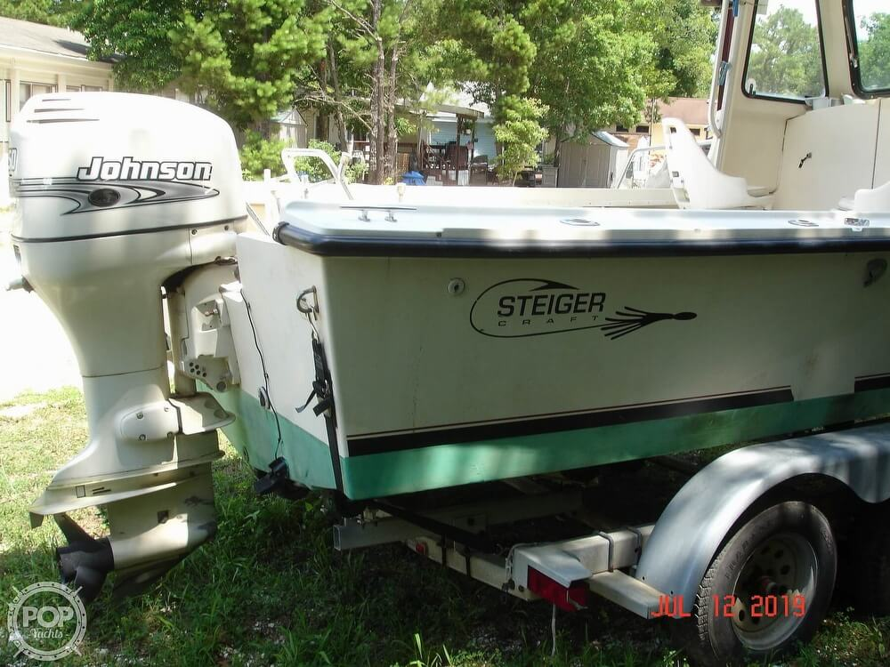 2001 Steiger Craft boat for sale, model of the boat is 21 Chesapeake & Image # 11 of 40