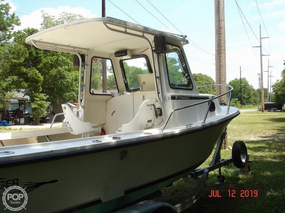 2001 Steiger Craft boat for sale, model of the boat is 21 Chesapeake & Image # 13 of 40