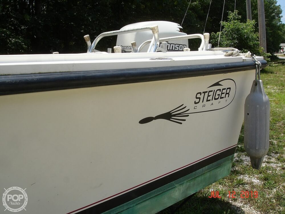 2001 Steiger Craft boat for sale, model of the boat is 21 Chesapeake & Image # 18 of 40