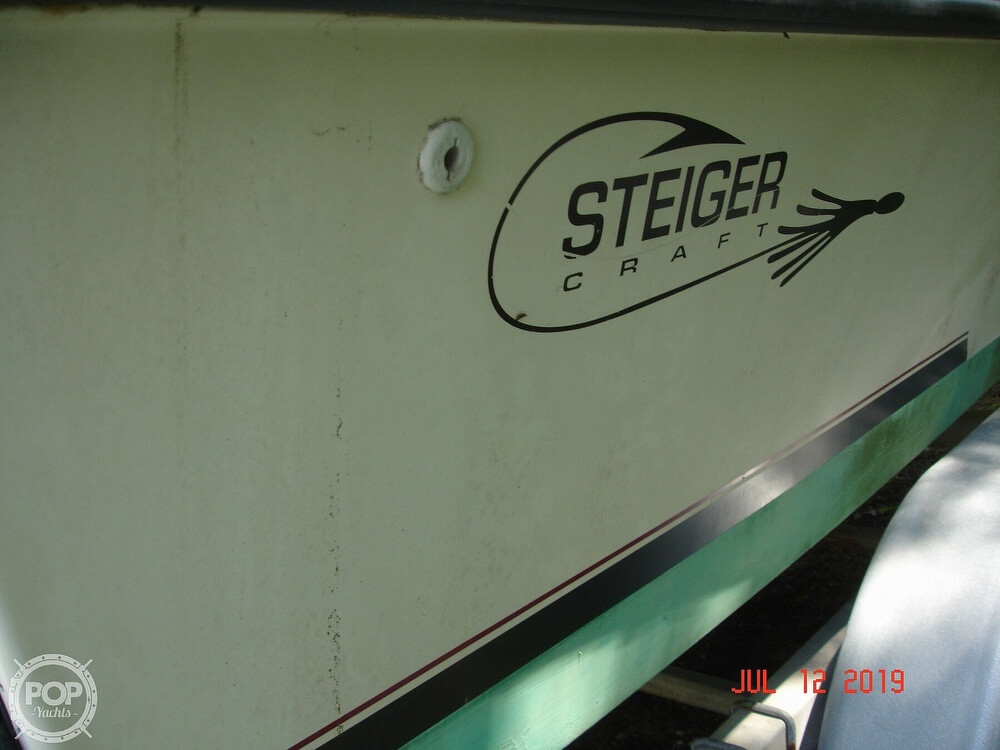 2001 Steiger Craft boat for sale, model of the boat is 21 Chesapeake & Image # 25 of 40