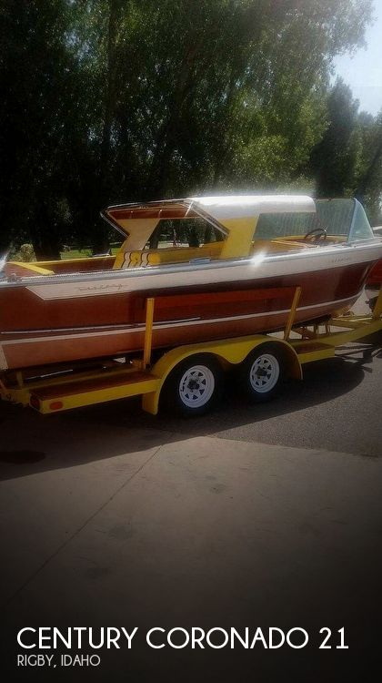 1963 Century boat for sale, model of the boat is Coronado 21 & Image # 1 of 6