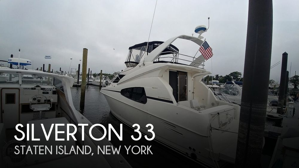 Used Silverton Boats For Sale by owner | 2002 Silverton 33